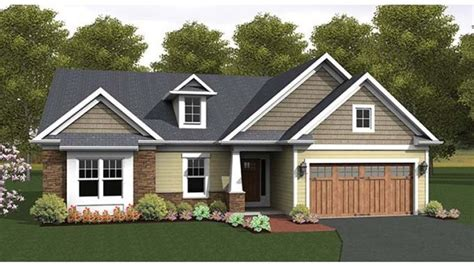 eplans ranch eplans ranch house plan craftsman accented ranch 1818