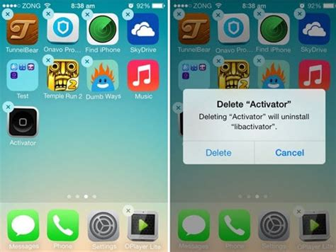 ways  delete apps  iphone  ios  supported