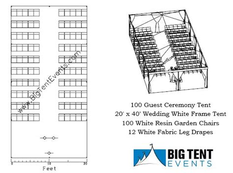 wedding service layout big tent events wedding ceremony seating big tent events