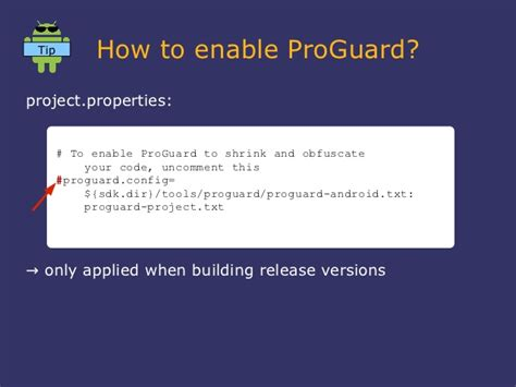 proguard android owf12 paug conf days pro guard optimizer and obfuscator for android