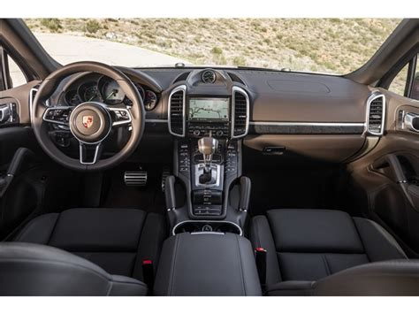 porsche suv interior 2017 porsche cayenne hybrid prices reviews and pictures u s