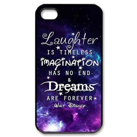 galaxy nebula disney quotes iphone      hard plastic black case ebay  disney