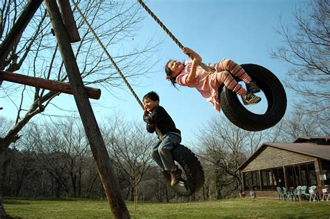 kids on swing children this is mi