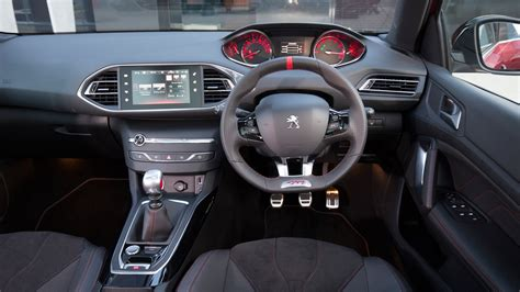 peugeot 308 gti interior peugeot 308 gti 2016 review car magazine