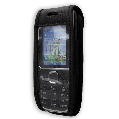 Casing Nokia C2 C2 1 nokia c2 01 leather with belt clip black aud 17 72 picclick au