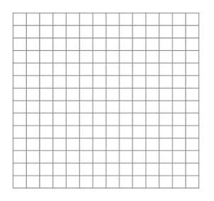 Make Your Own Graph Paper - 14 x 14 blank math graph paper paper and