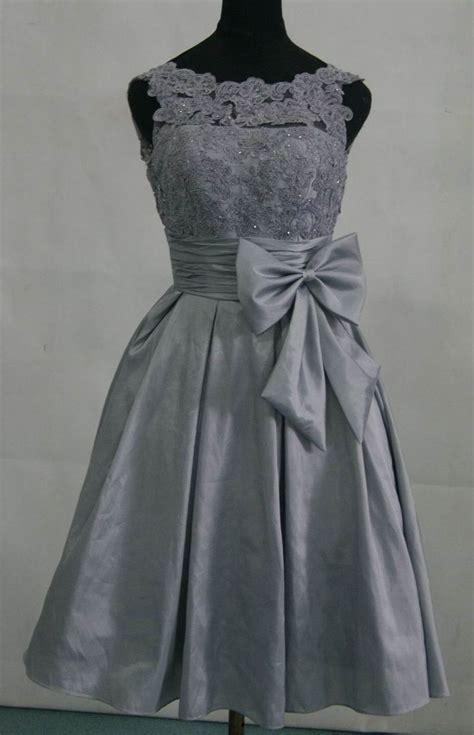 Silver Bridesmaid Dress by Taffeta Silver Grey Bridesmaid Dress Prom Dress With By