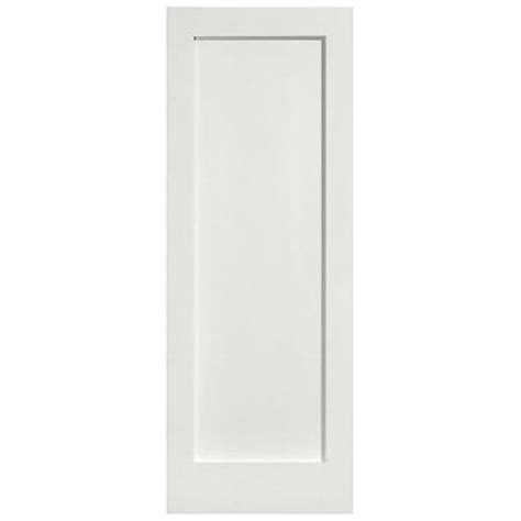 Mdf Panel Doors Interior Masonite Mdf Series Smooth 1 Panel Solid Primed Composite Interior Door Slab 13974 The