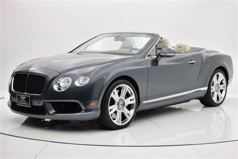 bentley finance department 2013 bentley continental gt v8 convertible