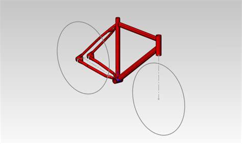frame design solidworks bicycle frame ks solidworks 3d cad model grabcad