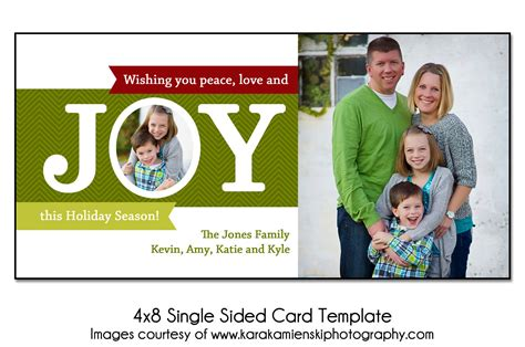 j card single sided template card template 4x8 single sided card template