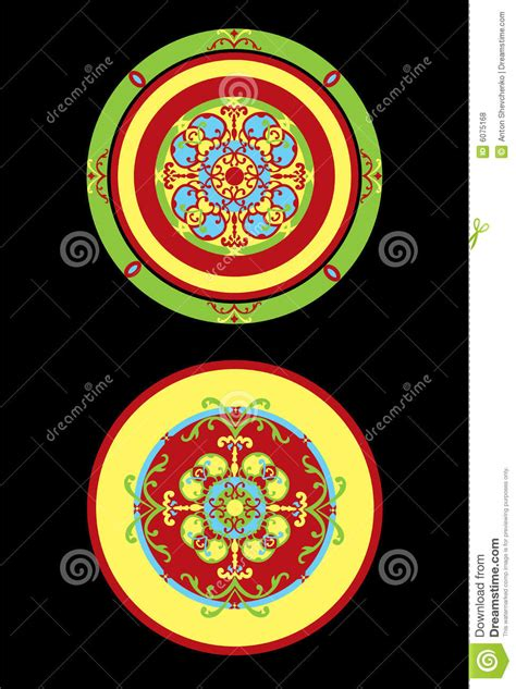 interior pattern stock vector illustration  design