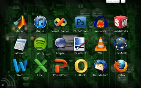 themes hot free download hot corners rainmeter theme for windows7