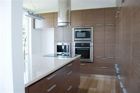 kitchen cabinet veneer floor to ceiling quartered walnut echowood veneer cabinet