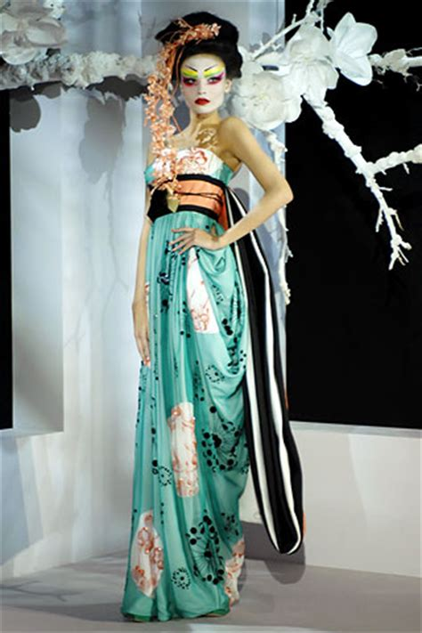 Show Report Haute Couture Ss 07 Christian christian summer 2007 couture vogue