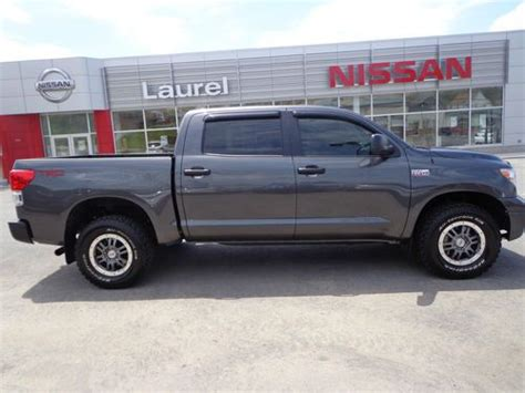 2013 Toyota Tundra Towing Capacity Find Used 2013 Toyota Tundra Crewmax Trd Rock Warrior 4x4