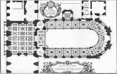 Floor Plan Description file floor plan of the royal chapel at versailles in 1714