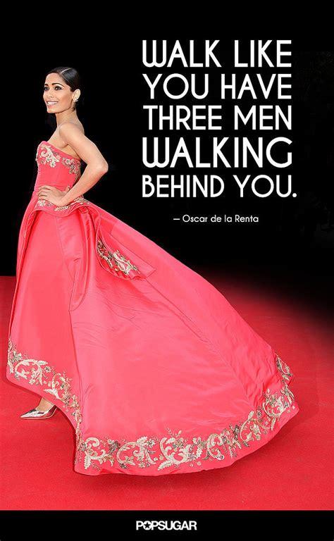 how to your to walk next to you quot walk like you three walking you quot 10 times oscar de la renta knew