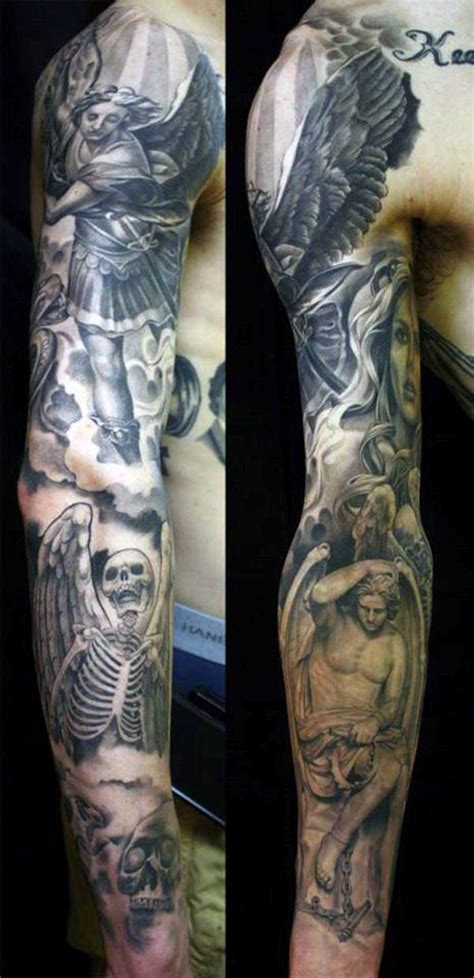 angel tattoo designs for men sleeves 75 remarkable tattoos for ink ideas with wings