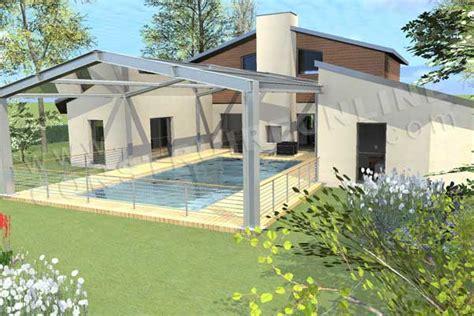 Décoration Balinaise Maison by Plan Maison 3 Chambres 3d