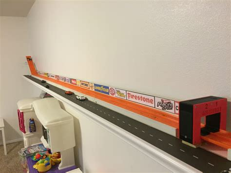 Shelf Track by Wheels Racing League How To Build A Wheels Shelf