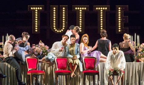 Opera Review Mozart S Cosi Fan Tutte Theatre