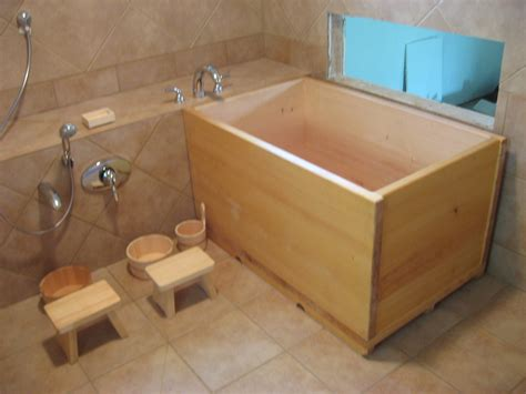 bathroom bucket japanese soaking tub clean pinterest