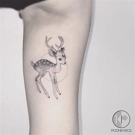 small deer tattoo best 25 fawn ideas on doe