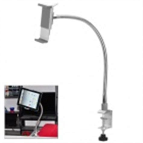 Stand Hp Holder Fleksible universal cantilever stand holder support for tablet pc white
