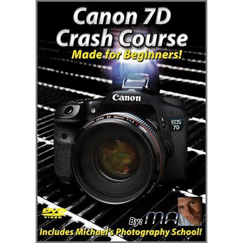 surgery school crash course books michael the maven canon 7d crash course dvd mtm 7d b h photo