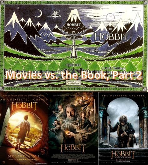 re post the hobbit vs the book part 2 all