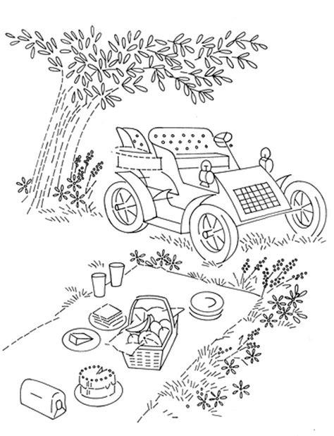 vintage patterns coloring pages d648 picnic explore rectangel s photos on flickr