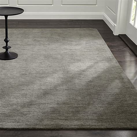crate barrel area rugs baxter grey wool rug crate and barrel