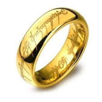 Replika Cincin Lord Of The Ring The One Ring jual replika cincin lord of the ring murah di lapak gn acs tiariaemasoriginal