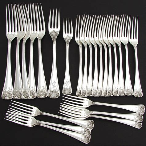 7 Gorgeous Flatware Patterns From Anthropologie by Gorgeous Antique Sterling Silver 48pc Flatware Set