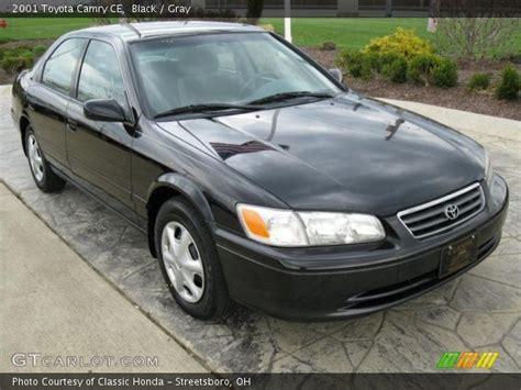 2001 Toyota Camry Ce Black 2001 Toyota Camry Ce Gray Interior Gtcarlot