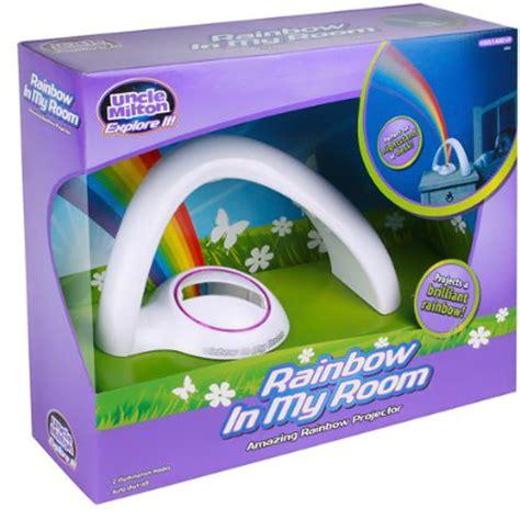 milton rainbow in my room lucky rainbow projector