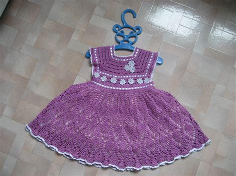 Como Tejer A Crochet Vestido Para Nia 12 Youtube | patrones de vestido para bebe en crochet apexwallpapers com
