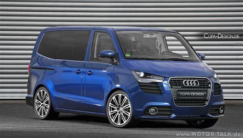 Audi Familienvan by Audi Transporter Concept Von Cupa Design De Cupadesign