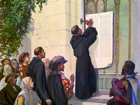 Martin Luther 95 Thesis Highlights From Luther S 95 Theses Mysteryoffaithblog