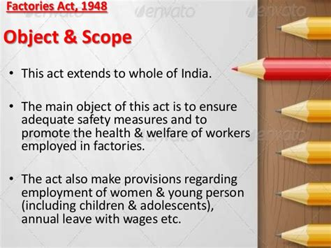 Factories Act 1948 Mba Notes by Factories Act 1948 With Related Attachments