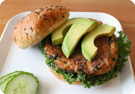 simple black bean burgers