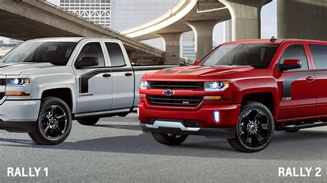 Silverado Rally Edition by Chevy Silverado Rally Edition Is Yet Another Special Model