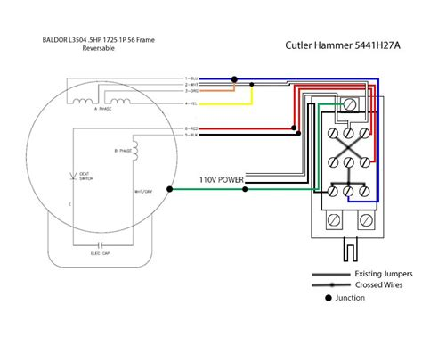 1 5 hp baldor electric motor wiring diagram wiring