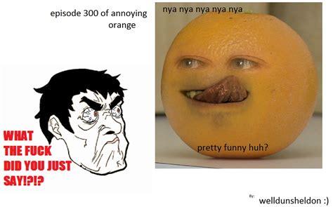 Orange Meme - stupid orange the annoying orange know your meme