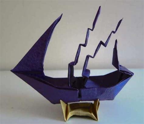 3d Origami Swan Boat - grand origami ship 2016