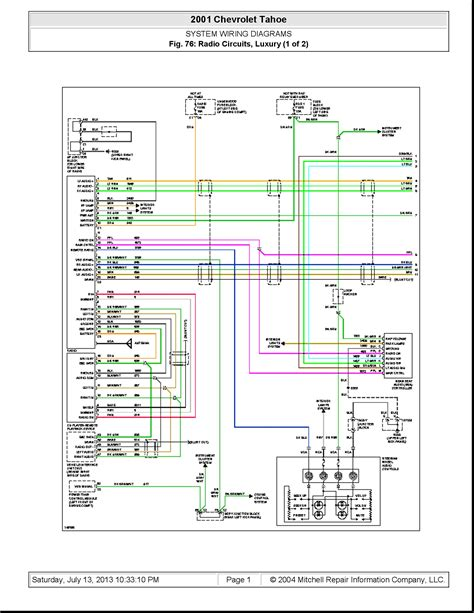 chevy stereo wiring diagrams automotive free