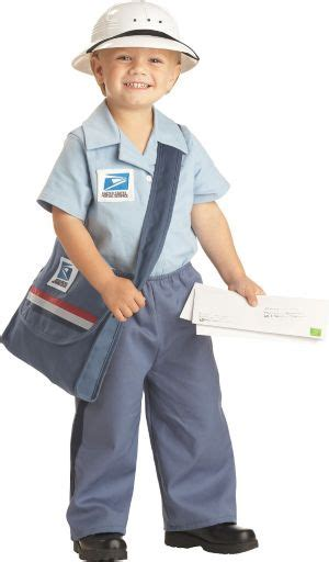toddler boys  mailman costume party city