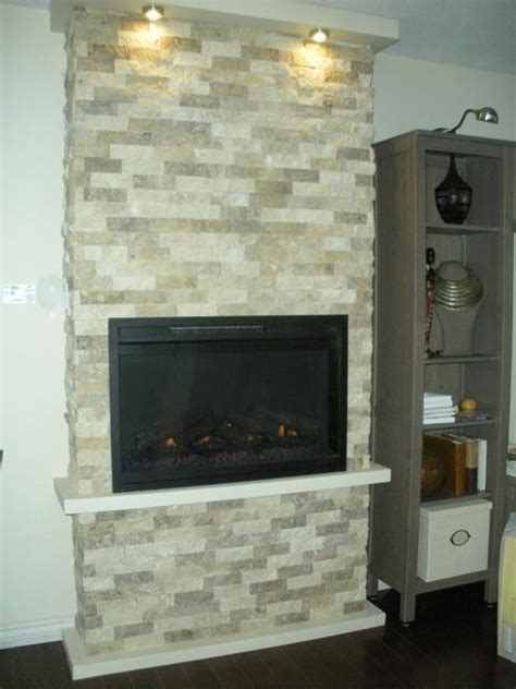 a beautiful electric fireplace in a real customer s living