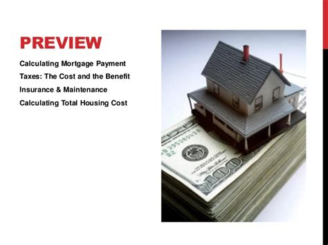 housing benefit for mortgage payments unit 6 renting vs owning